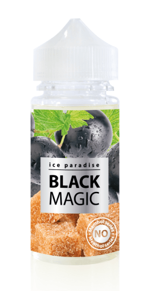 Black Magic (No Menthol) 100 ml by Ice Paradise