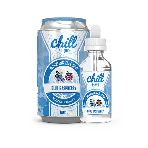 Blue Raspberry 60ml by Chill E-Liquid