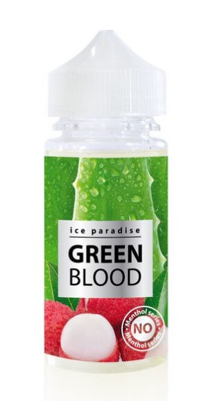 Green Blood (No Menthol) 100 ml by Ice Paradise