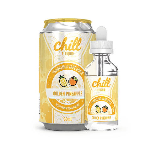 Golden Pineapple 60ml by Chill E-Liquid