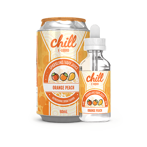 Orange Peach 60ml by Chill E-Liquid