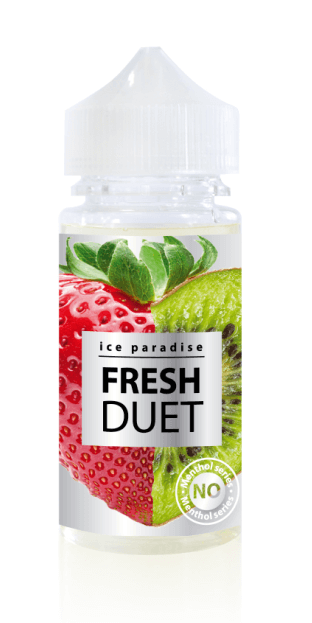 Fresh Duet  (No Menthol) 100 ml by Ice Paradise