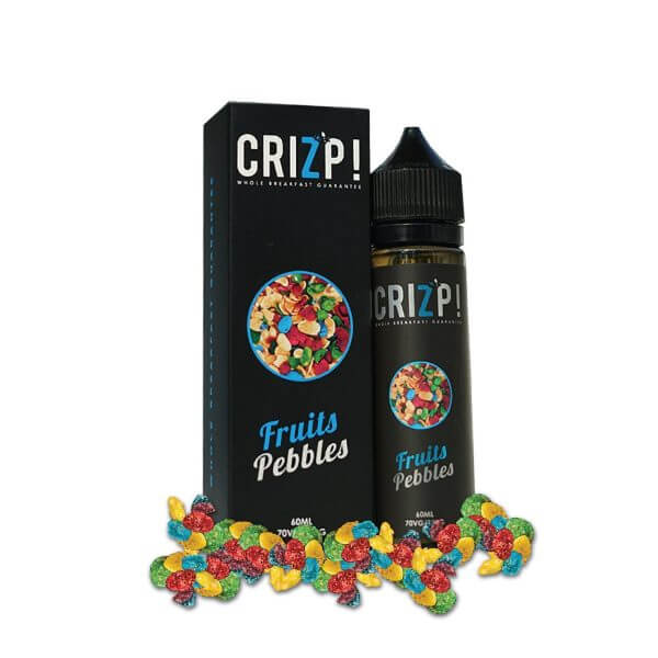 Fruits Pebbles 60ml by Crizp!
