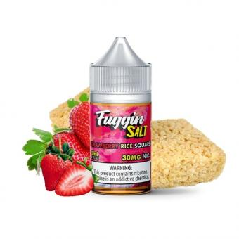 Strawberry Rise Squares 30ml by Fuggin Vapor Salts