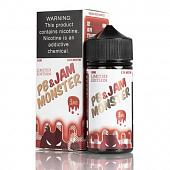 Pb & Jam Strawberry 100ml by Jam Monster