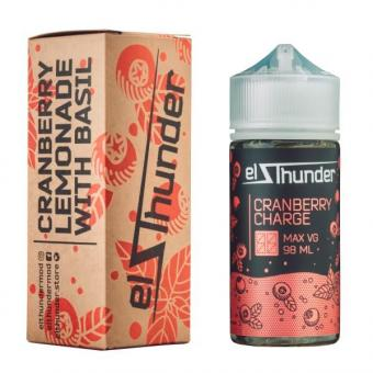 Cranberry Charge 98ml by EL Thunder E-Liquid